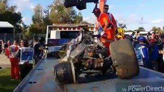 fernando alonso 2016 australian f1 crash aftermath