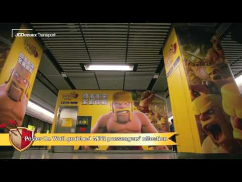 JCDecaux Transport (Hong Kong): Clash Of Clans Campaign