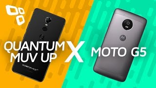 Quantum MUV Up vs. Moto G5 - Comparativo [TecMundo]