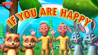 if you are happy and you know it clap your hands nursery rhyme