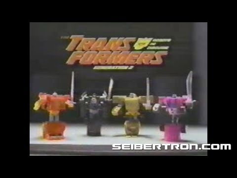 Transformers G2 Laser Rods and Rotor Force Generation 2 commercial 1994