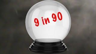 9 mid-season predictions...in 90 seconds