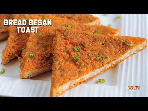 Bread Besan Toast | Quick Snack Recips | Bread Recipes