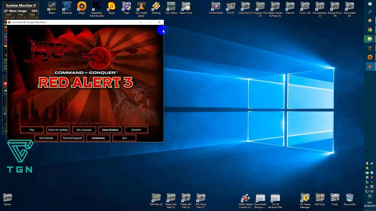 how to install cnc red alert 3 mods for windows 10 origin steam retail youtube. Black Bedroom Furniture Sets. Home Design Ideas