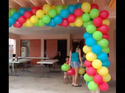 ballon de decoration pour fete de fin d 39 ann e rabat maroc youtube. Black Bedroom Furniture Sets. Home Design Ideas