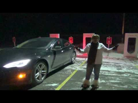 Tesla Motors Model S / X: Supercharger Travel to Mauston, Wisconsin
