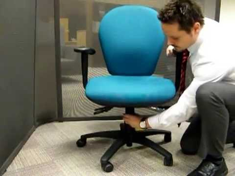 edo posture chair planet fitness massage chairs task youtube