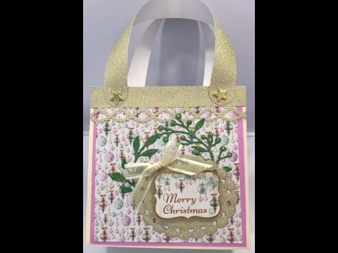 Store Flat Quick & Easy Christmas Gift Bags