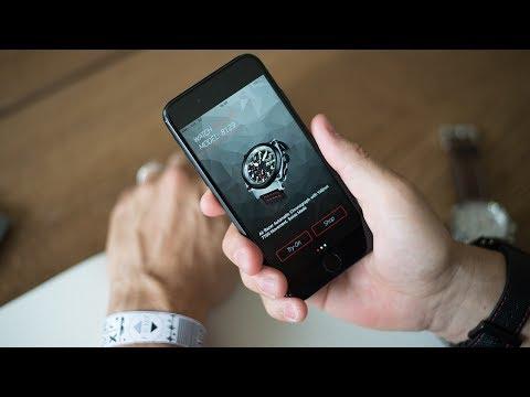 Grâce à la nouvelle TryOn App de Formex, les montres peuvent désormais être essayées virtuellement