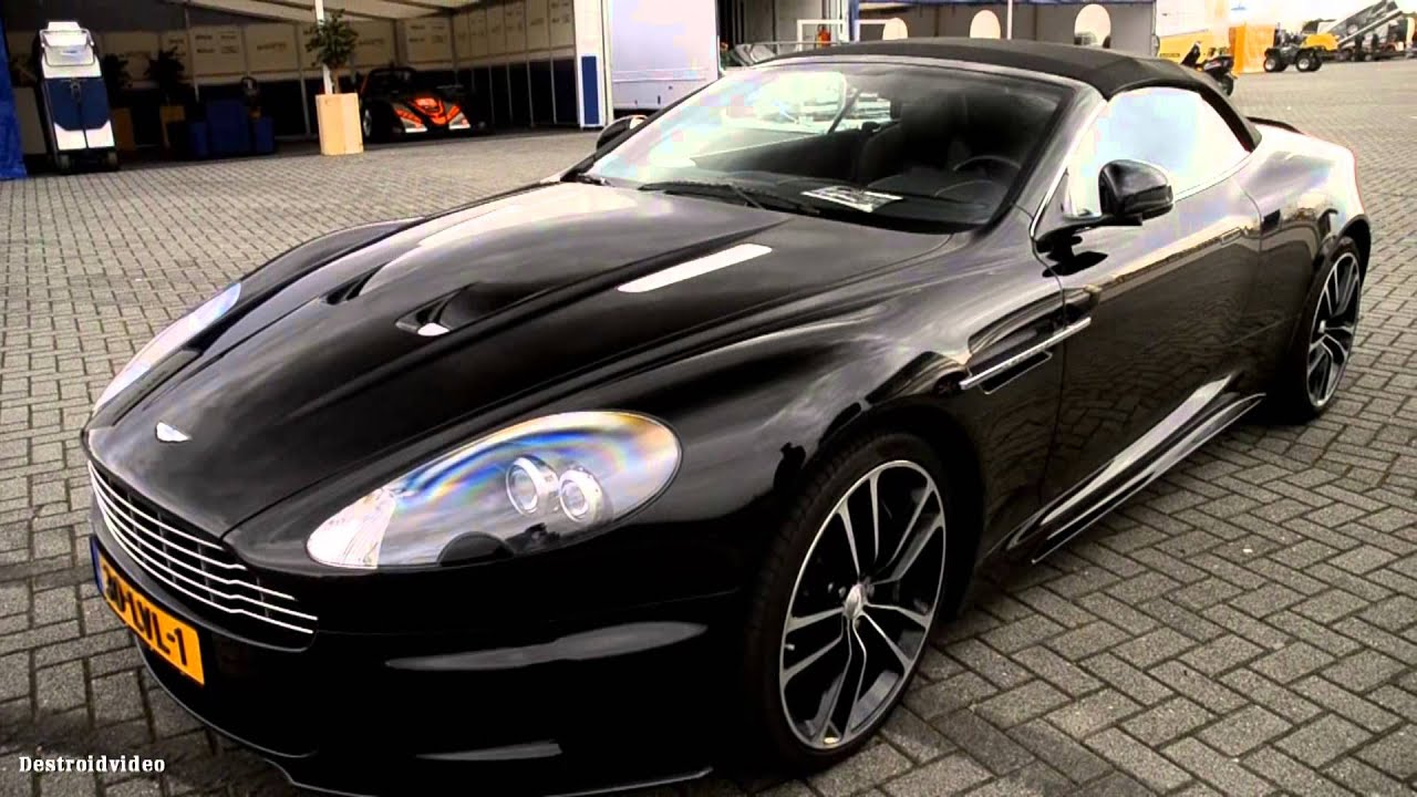 Aston Martin Dbs Volante Carbon Black Edition Overview And