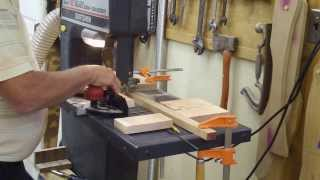 Wood Hinges Using The Band Saw