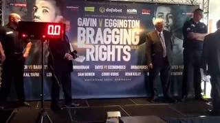 KAL YAFAI v JOHNSON TELLEZ - OFFICIAL WEIGH IN VIDEO / BRAGGING RIGHTS