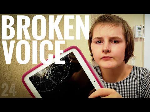 She Broke Her Communication Device