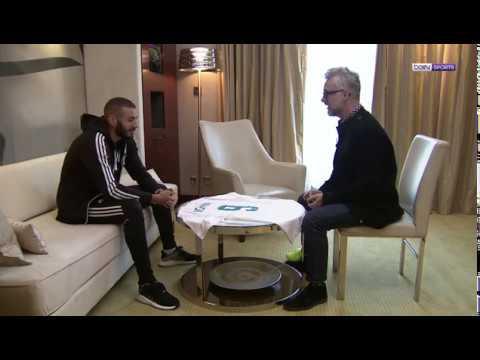 L'interview de Karim Benzema au micro de (Bein Sports)