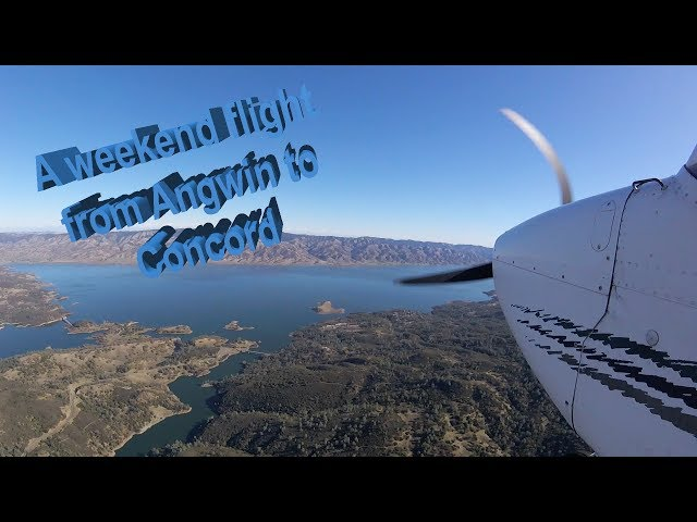 Angwin, CA (2O3) to Concord, CA (KCCR) with ATC...