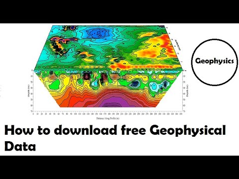 How to download free Geophysical Data
