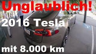 Tesla Model S mit nur 8.000 Kilometer in Österreich gekauft