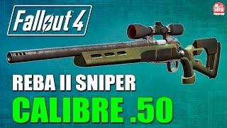 Fallout 4 - REBA II SNIPER .50 ( Como pegar e Localização )