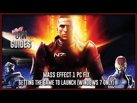 Mass Effect 1 PC Fix - Getting the Game to Launch (Windows 7 Only)