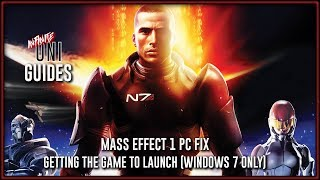 Mass Effect 1 PC Fix - Getting the Game to Launch