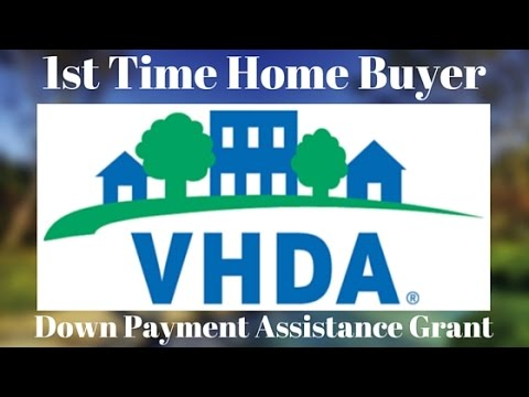 VHDA Down Payment Assistance Grant for 1st Time Home Buyers
