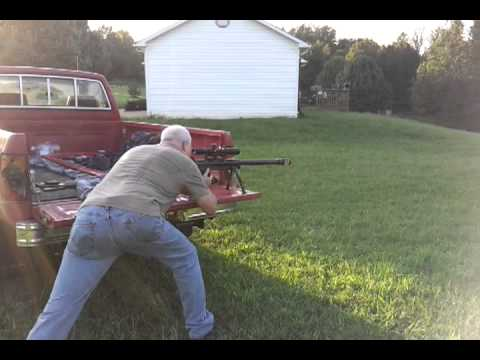 Rick Shooting My 50 Bmg Lar Grizzly Big Boar Youtube