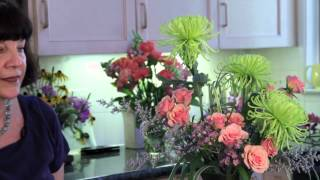 Oriental Styles of Arranging Flowers : Flower Arrangements