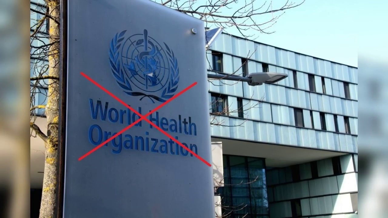Trump freezes World Health Organization cash flow