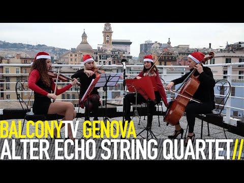 ALTER ECHO STRING QUARTET - CHRISTMAS MEDLEY (BalconyTV)