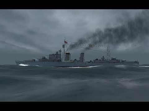 Корабль в шторм Снятие стресса. Спокойный сон