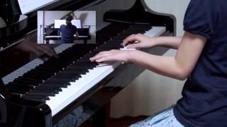 2015年9月6日 録画、 使用楽譜;ピアノソロ スタジオジブリ大全集 『風...