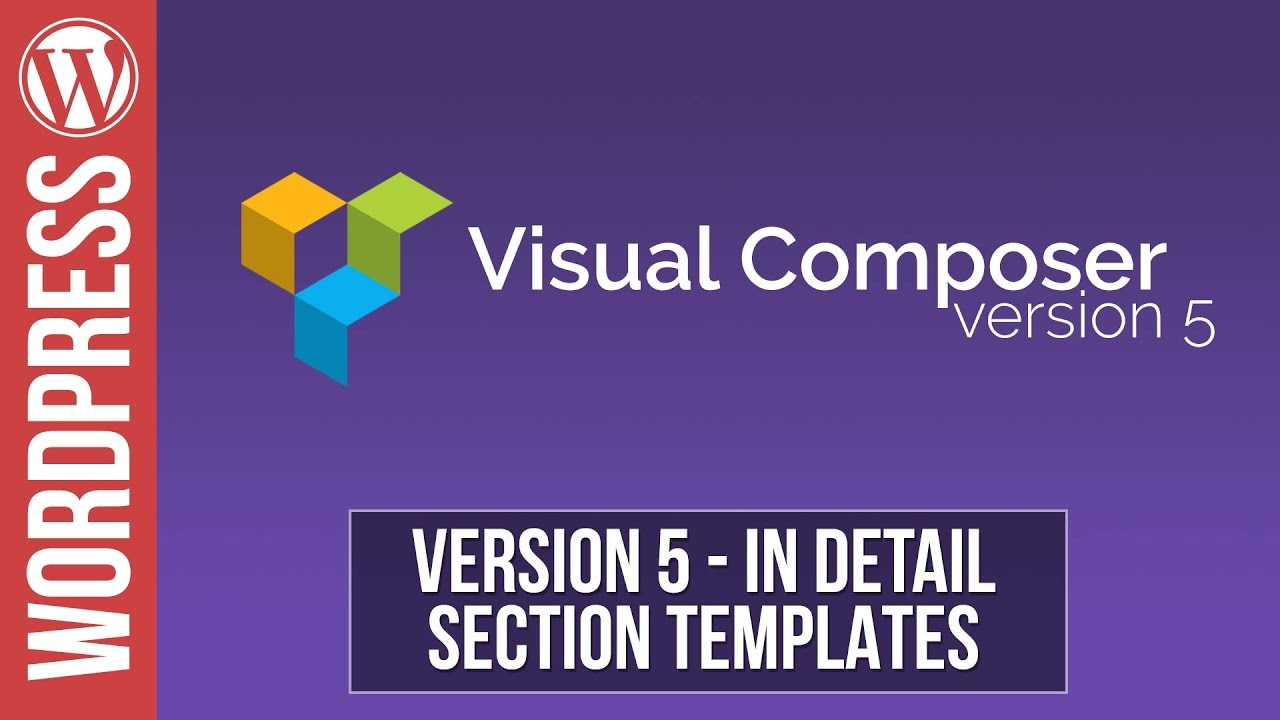 Visual Composer Templates   Visual Composer How To Create Section Templates Youtube