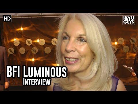 BFI CEO Amanda Nevill | BFI Luminous Gala Red Carpet Interview