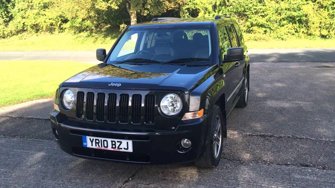 2010 10 jeep patriot 2 0 limited crd 5d 139 bhp leather privacy fsh