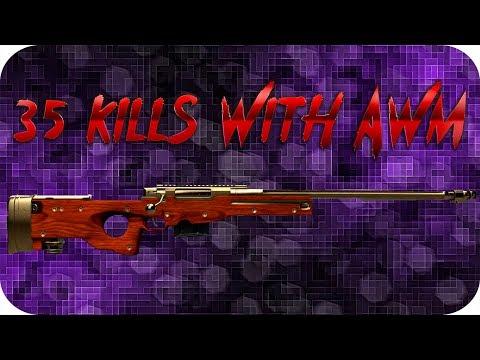35 KILLS WITH AWM. BEST PUBG / PLAYERUNKNOWN'S BATTLEGROUNDS WTF