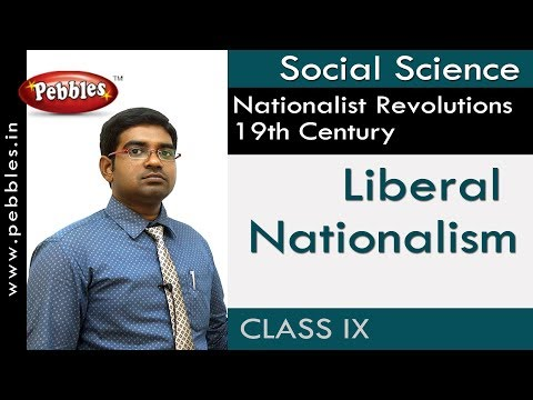 Liberal Nationalism : Nationalist Revolutions 19th Century | Social | AP&TS Syllabus | Class 9