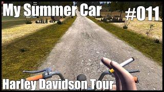 My Summer Car   #011   Harley Davidson Tour   My Summer Car Lets Play Deutsch