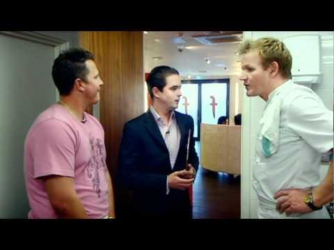 Darren Gough Recipe Challenge: Results - Gordon Ramsay