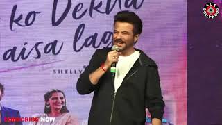 Anil Kapoor & Darshan Raval FUNNY Moment At Film Ek Ladki Ko Dekha Toh Aisa Laga At Nmims College