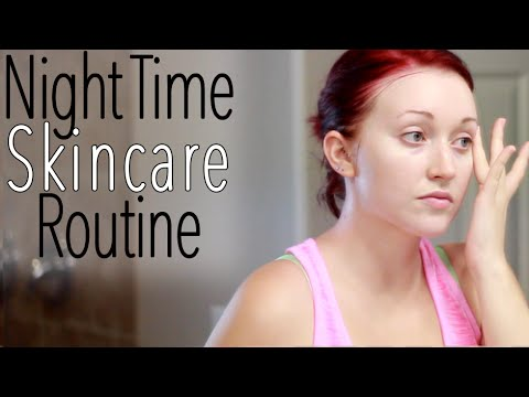 My Night Time Summer Skin Care Routine