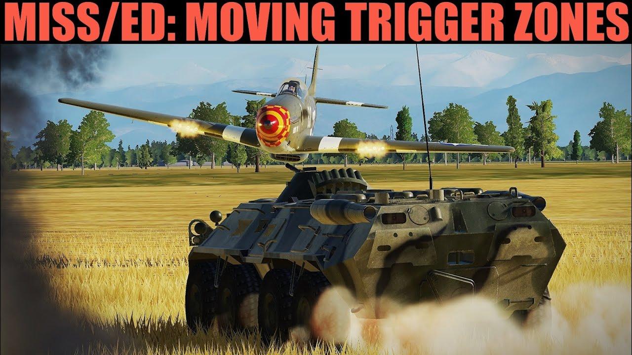 Mission Editor: Moving Trigger Zones Tutorial | DCS WORLD