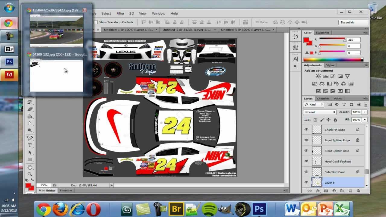 Paint A Car Photoshop