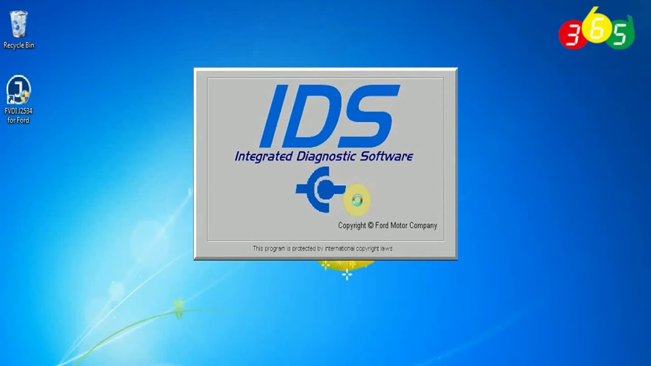 How to install Ford IDS V110 for FVDI J2534 without VMware -obdii365