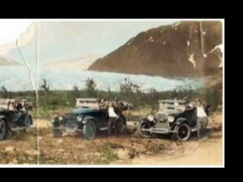 Mendenhall Glacier Historical look present to the past compilation.