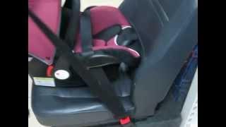 видео Как крепится бустер в машине: правила расположения и фиксации