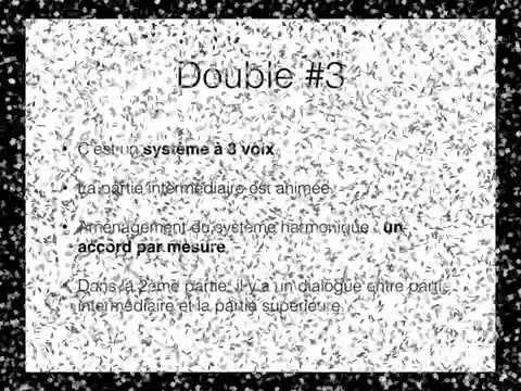 Rameau - Gavotte et six doubles