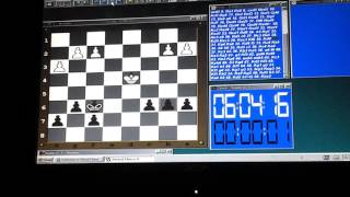 Chess - Kasparov Chess Engine vs Mike (0-1) Game 3 12 16 Nimzo-Indian Classical Game