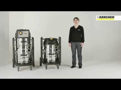 Промышленные пылесосы Karcher компактного класса серии IVC
