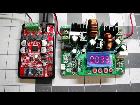 Bluetooth Amp Current and Voltage Test