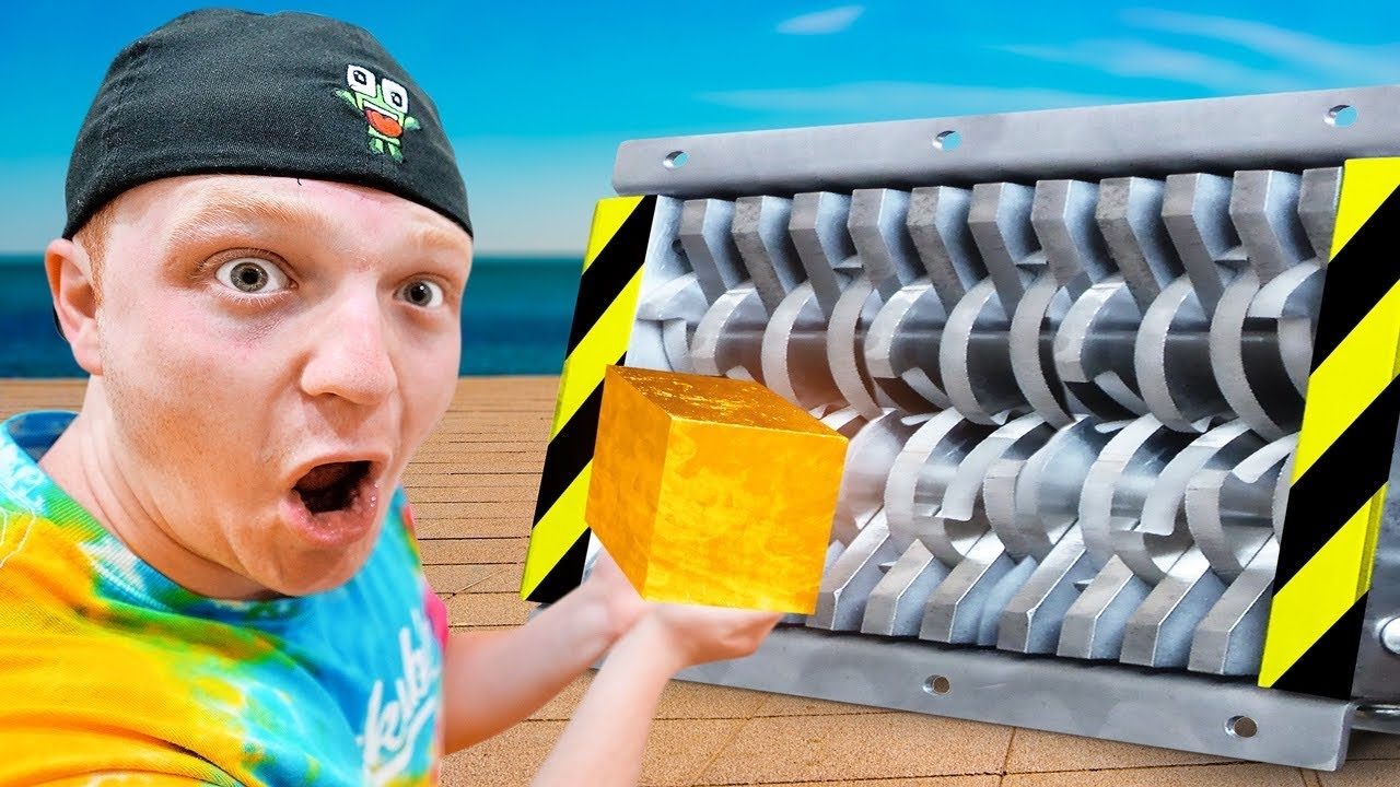 27 Ways To DESTROY The Worlds STRONGEST Cube!